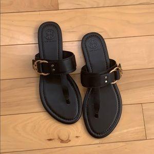 NWOT Tory Burch black sandals